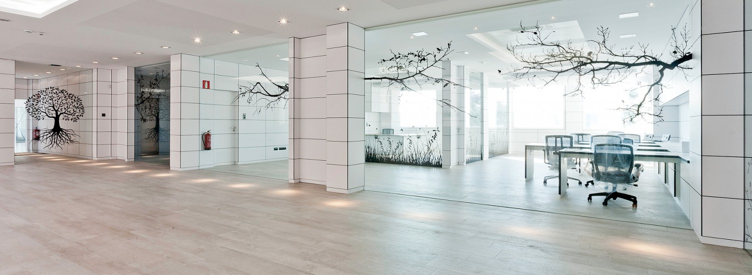 office partitions glass Barcelona