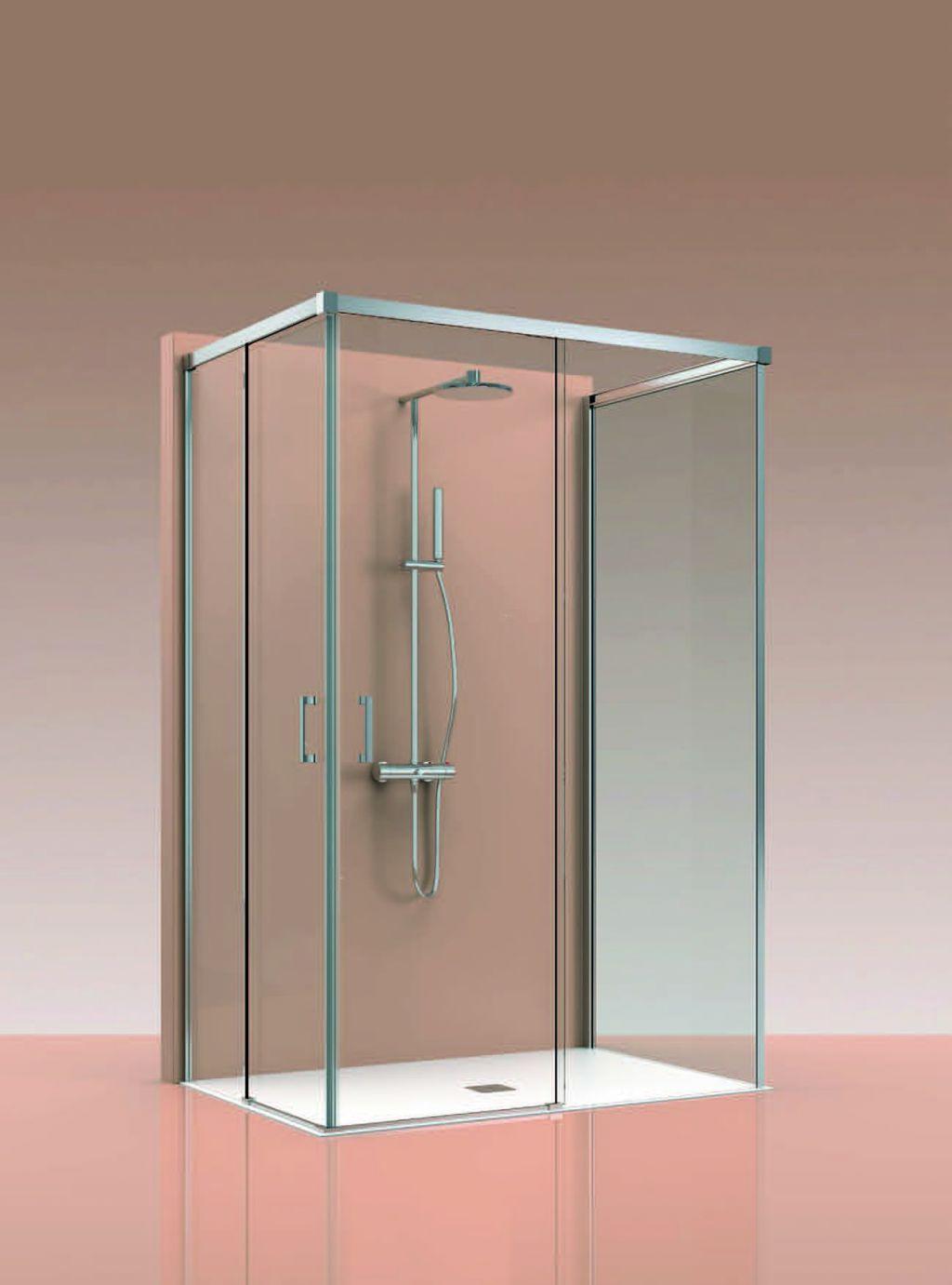Mampara corredera aluminio la cristaleria de barcelona - Cristaleras de aluminio ...