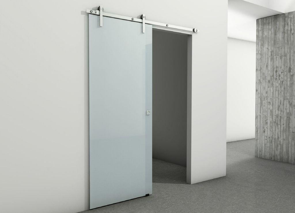 Guia para puerta corredera charriot system la - Puerta de cristal corredera ...
