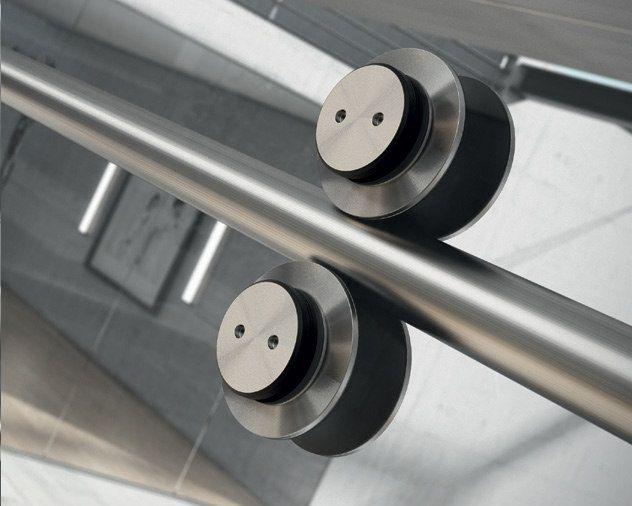 Sistema para puertas correderas clear la cristaleria de for Guias para puertas correderas ikea