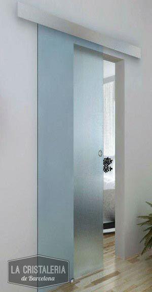 oferta puerta corredera de cristal barcelona la