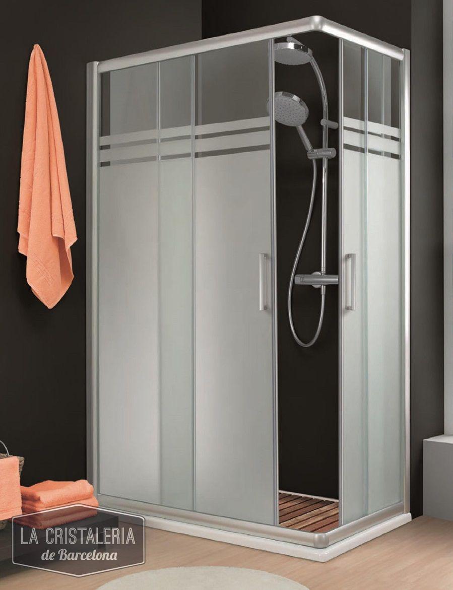 Mamparas de ducha 2 puertas correderas