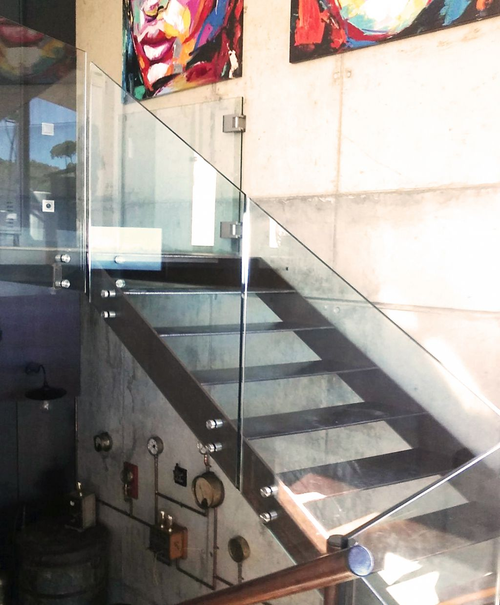 Barandillas de cristal La Cristaleria de Barcelona