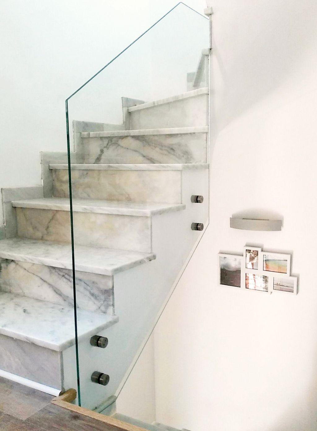 Barandillas De Cristal La Cristaleria De Barcelona ~ Barandillas De Cristal Para Escaleras Interiores