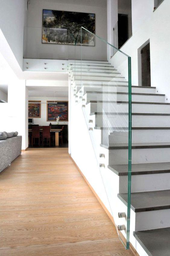 Barandillas de cristal la cristaleria de barcelona for Barandilla escalera exterior