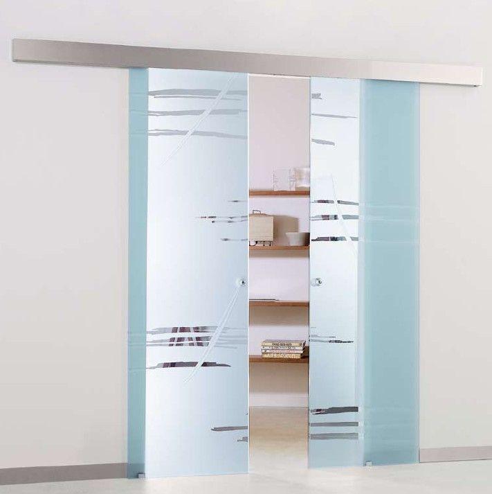 Portes corredisses de vidre la cristaleria de barcelona for Puertas correderas cristal baratas