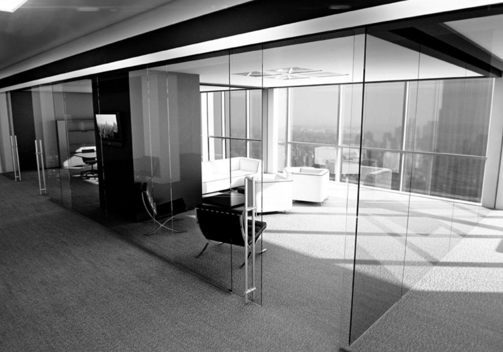 Puerta corredera e125 la cristaleria de barcelona for Puertas correderas barcelona