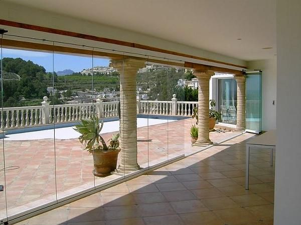 Cortinas de cristal la cristaleria de barcelona - Cerrar la terraza ...