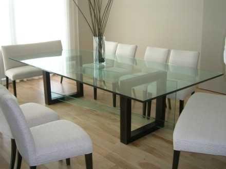 Cristales para mesas la cristaleria de barcelona - Cristal templado para mesa ...