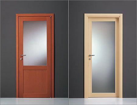 Cristales para puertas la cristaleria de barcelona for Puertas para interior baratas
